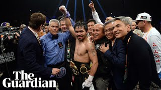 'We'll fight again if you want': Manny Pacquiao to Floyd Mayweather after Broner fight