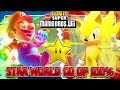 Sonic & Mario in New Super Mario Bros Wii - Co Op 100% - Star World