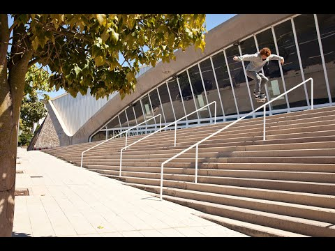 Jart Skateboards - Back lip 16 stairs RAW