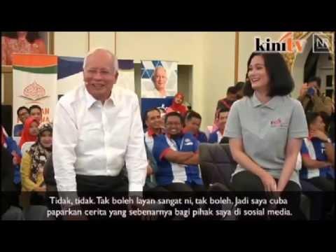 Najib Geram bila baca komen di Facebook