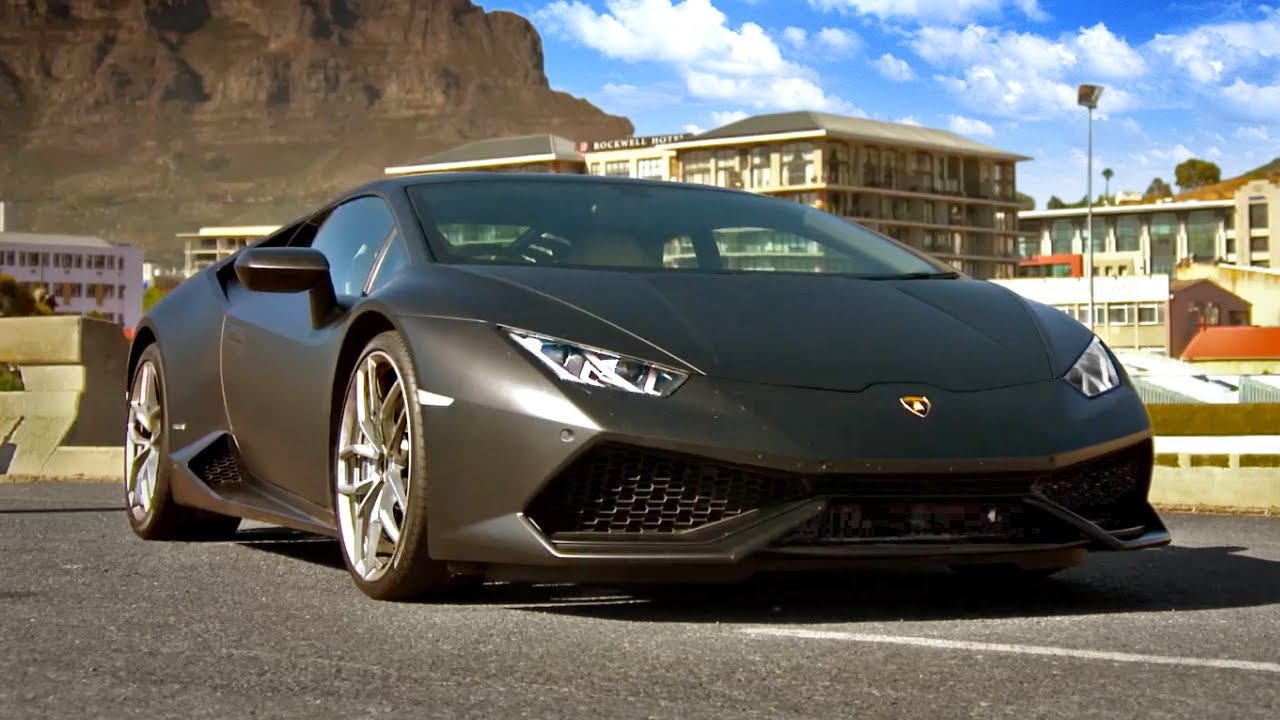 driving the lamborghini huracán - fifth gear - youtube