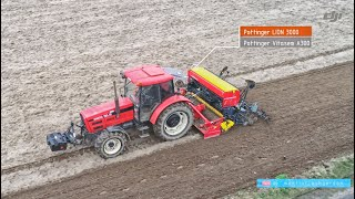 Pottinger Vitasem A300 LION 3002 test z Zetor Forterra 116-41