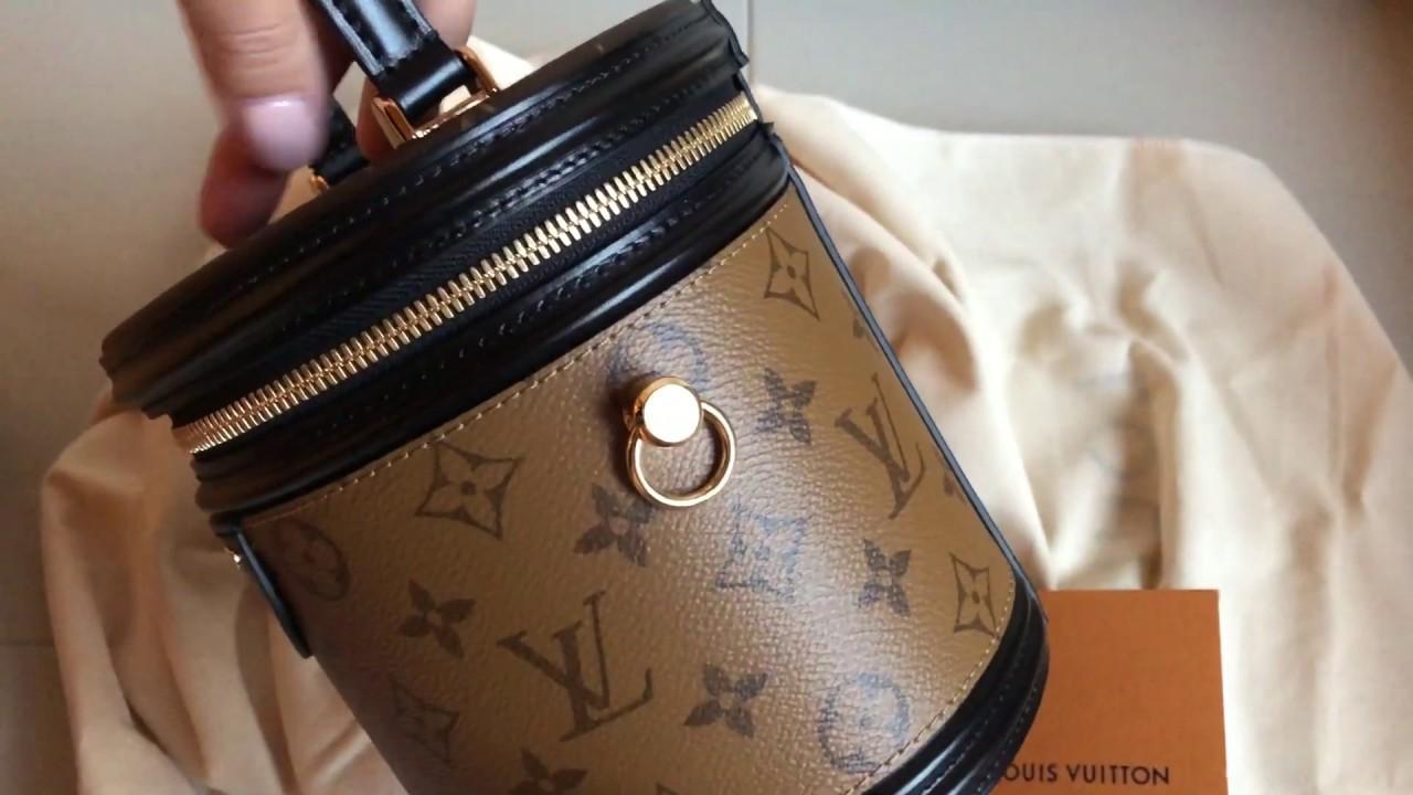 43fbd676a6 LOUIS VUITTON Cannes Monogram Bag Unboxing