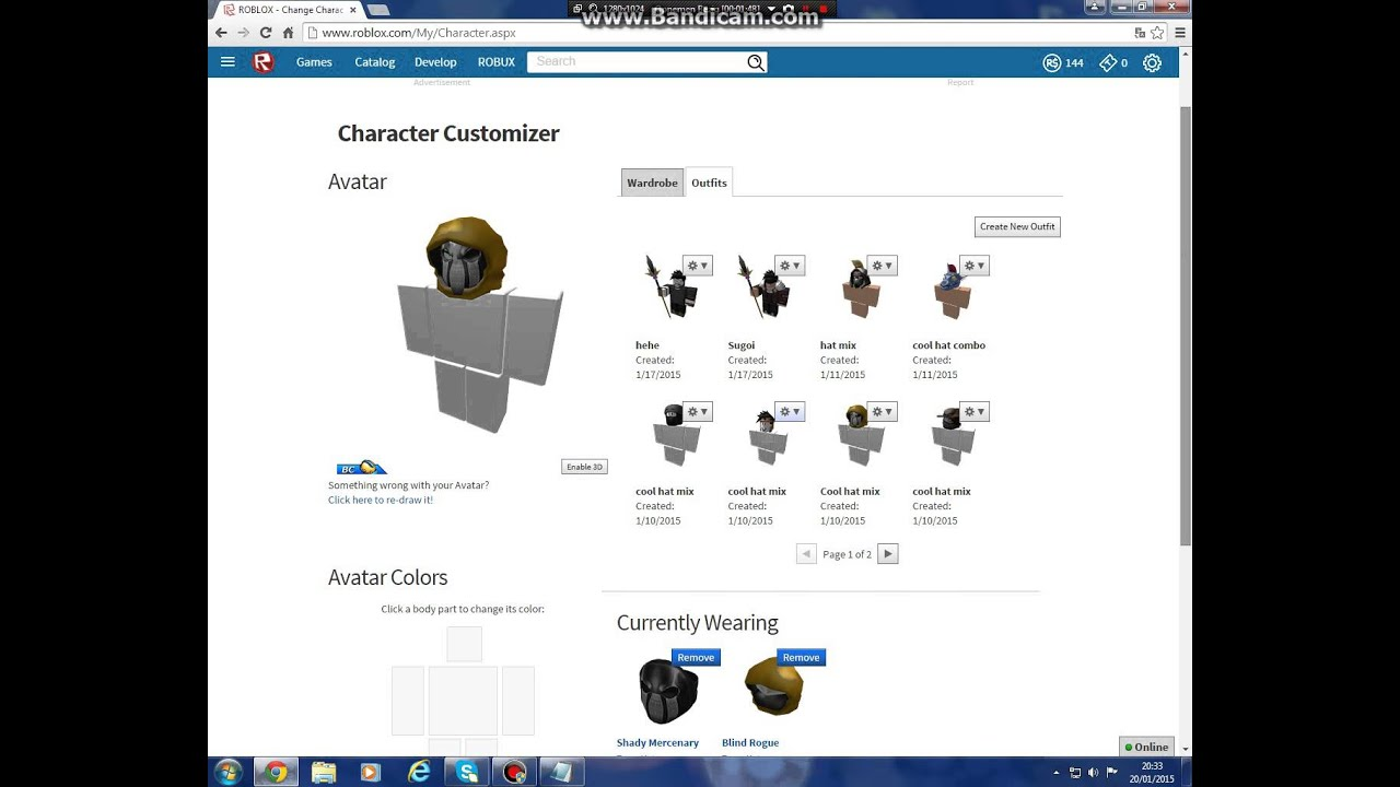 Roblox Hat Combos 2015 Youtube