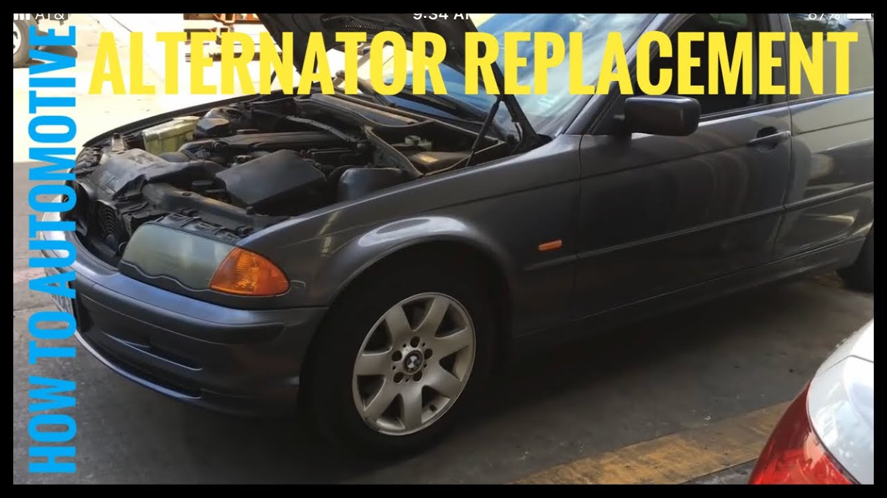 How To Replace The Alternator On A 1998 2005 Bmw 3 Series E46 Youtube Amp Wiring For E39