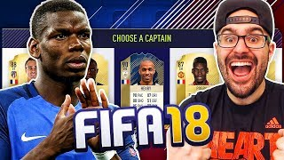 AWESOME FRANCE ONLY DRAFT - FIFA 18 Gameplay Ultimate Team Fut Draft