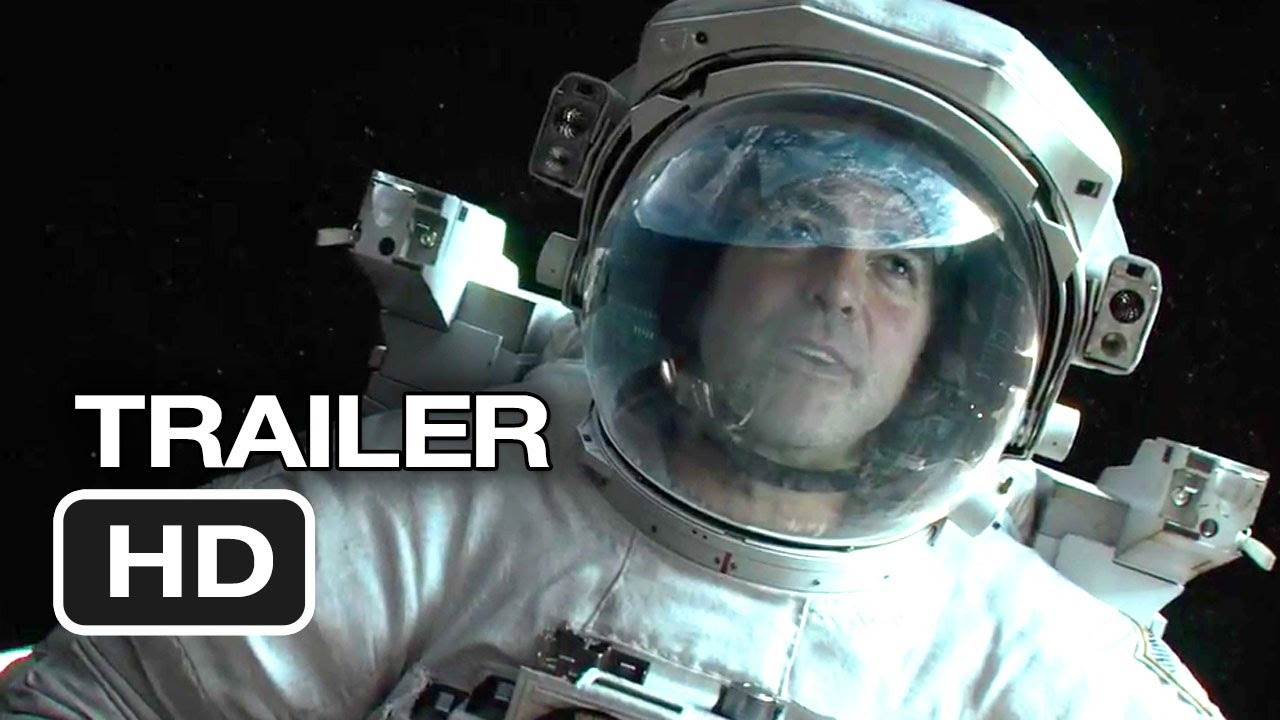 Gravity Teaser Trailer 2013  George Clooney Movie HD