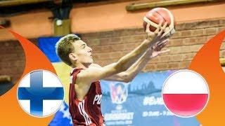 LIVE Finland v Poland FIBA U16 European Championship Division B 2018
