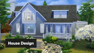 Hilltop Bungalow • The Sims 4 House Design