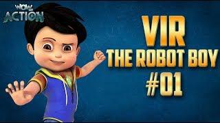 Vir: The Robot Boy | Hindi Cartoon Compilation For Kids | Compilation 01 | WowKidz Action