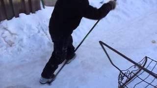как правильно кататься на палках без лыж