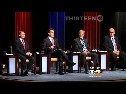 Gov. Andrew Cuomo, Challenger Rob Astorino Hurl Accusations During Debate