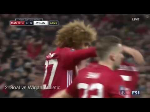 All Marouane Fellaini goals & assists 2016/2017