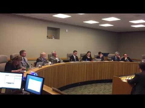 B-roll: Panel on transporting crude oil by rail