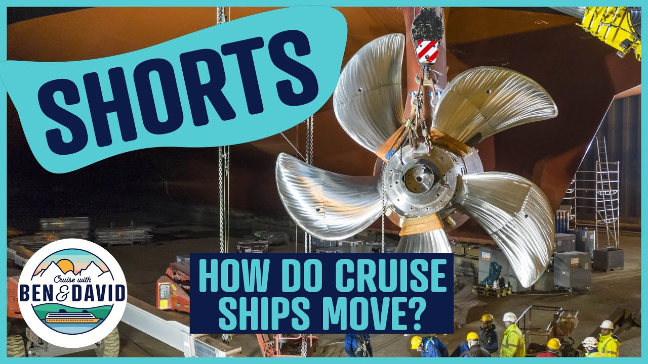 THIS is how a CRUISE SHIP can turn on a dime!!! #Shorts
