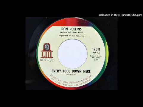 Don Rollins - Every Fool Down Here (LHI 17011) [1967 country]