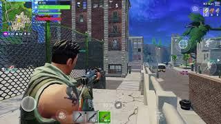 Fortnite IOS gameplay (Blitz)