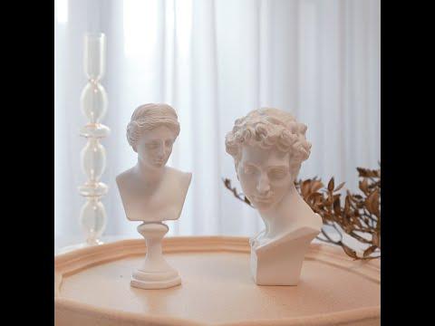 希臘眾神擺拍石膏像