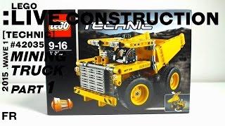 LEGO Live Construction : Technic' Mining Truck (1/2) [Français]