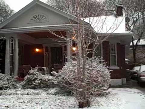 Big Snow in Midtown Memphis