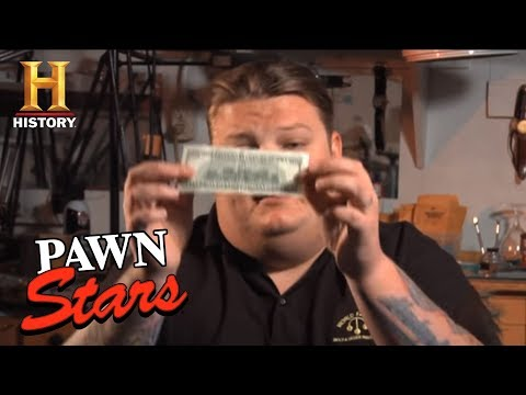 Pawn Stars: How to Spot a Fake $100 bill   History