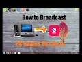 How to Broadcast / Live Stream Minecraft From PC to Live.ly / Musical.ly Easy [ Tutorial }