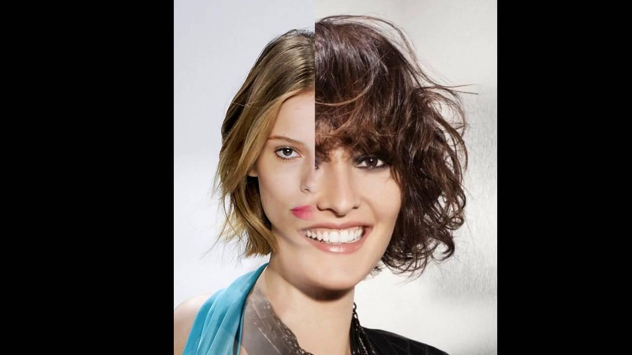 Frisur Eckiges Gesicht Feines Haar YouTube