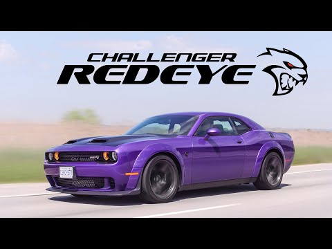 2019 Dodge Challenger Hellcat Redeye Widebody Review – How is This Street Legal?