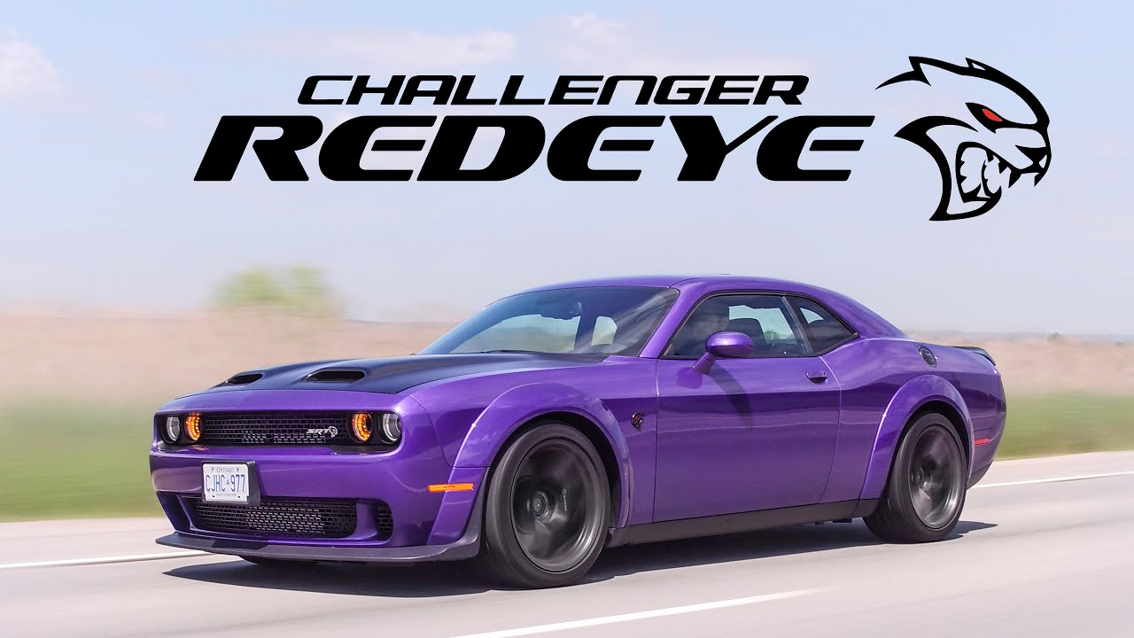 2019 Dodge Challenger Hellcat Redeye Widebody Review How Is This Street Legal