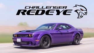 2019 Dodge Challenger Hellcat Redeye Widebody Review - How is This Street Legal