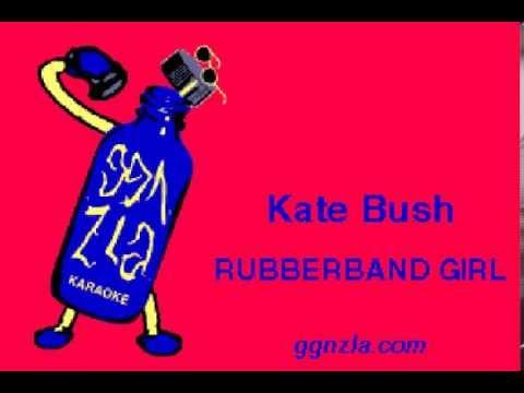ggnzla KARAOKE 259, Kate Bush - RUBBERBAND GIRL