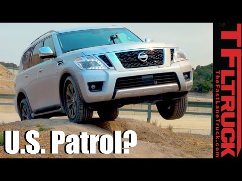 2017 Nissan Armada 4x4 First Drive Review