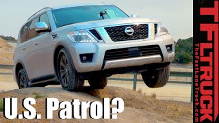 Video 2017 Nissan Armada 4x4 First Drive Review download MP3, 3GP, MP4, WEBM, AVI, FLV Juni 2017