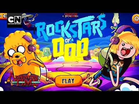 Adventure Time I Rockstars of Ooo I App Preview Video I Cartoon Network