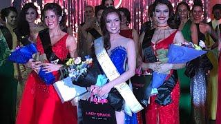 Miss Global Philippines 2018 Eileen Gonzales namayagpag sa Filipiniana fashion show