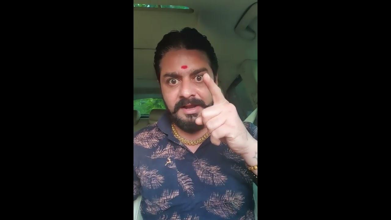 Hindustani Bhau File A Case On A BOLLYWOOD CELEBRITY | Hindustani Bhau Insta Live Video