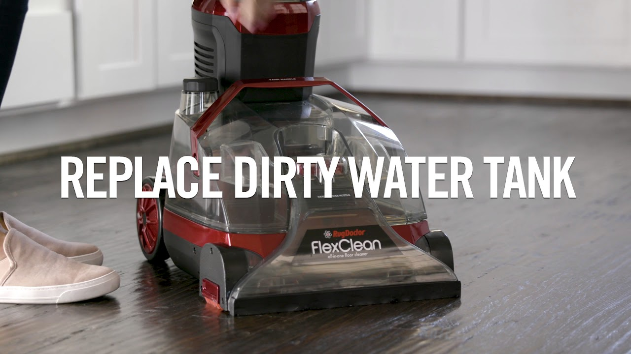 How To Use The Rug Doctor Flexclean All In One Floor Cleaner