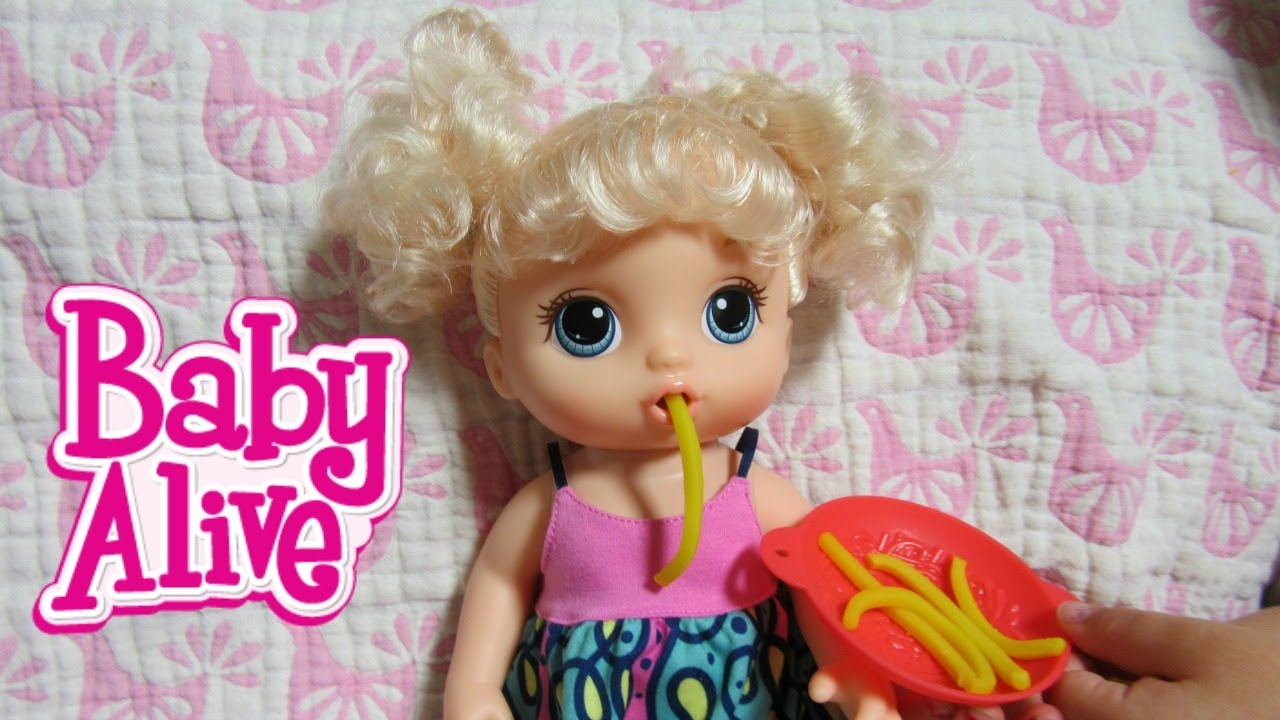 Baby Alive New Super Snacks Snackin Noodles Baby Doll