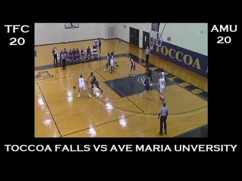 Luke Baham's Basketball Highlight film 2018-2019 Toccoa Falls College