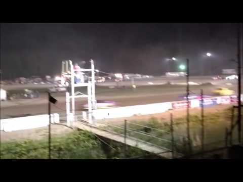 Hobby Stock Feature Mt. Pleasant Speedway 6/3/16