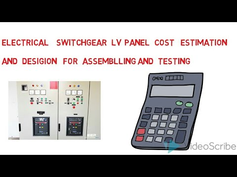 Electrical Cost Estimation/ Electrical Switchgear Cost Estimation/ Electrical Estimation  Tamil