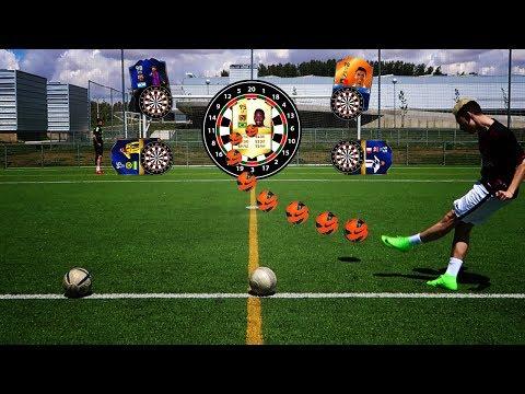PUNTERIA 99% IMPOSIBLE!!! FOOTBALL vs FIFA 17