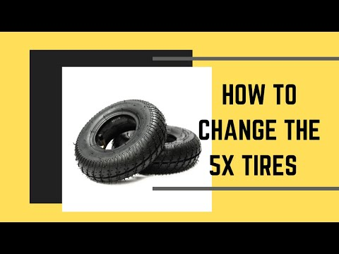 How To Change The Tires On A Trailer Valet Tongue Jack