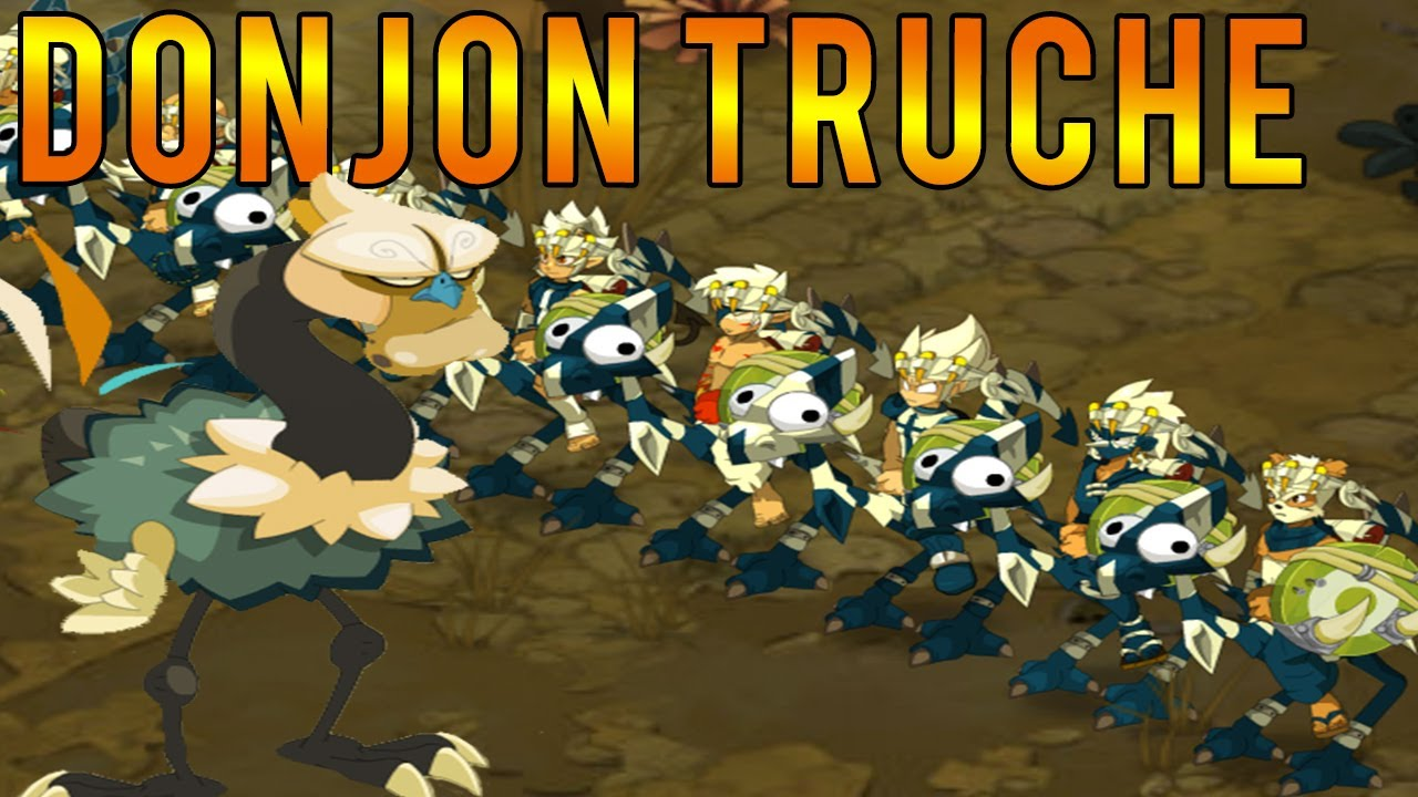 Dofus ez team vs donjon voli re haute truche pano fr for Haute truche