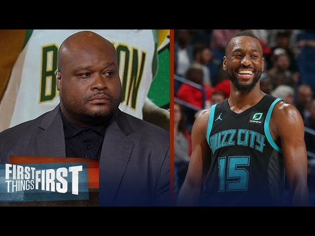 Antoine Walker believes the Celtics are better with Kemba over Kyrie   NBA   FIRST THINGS FIRST