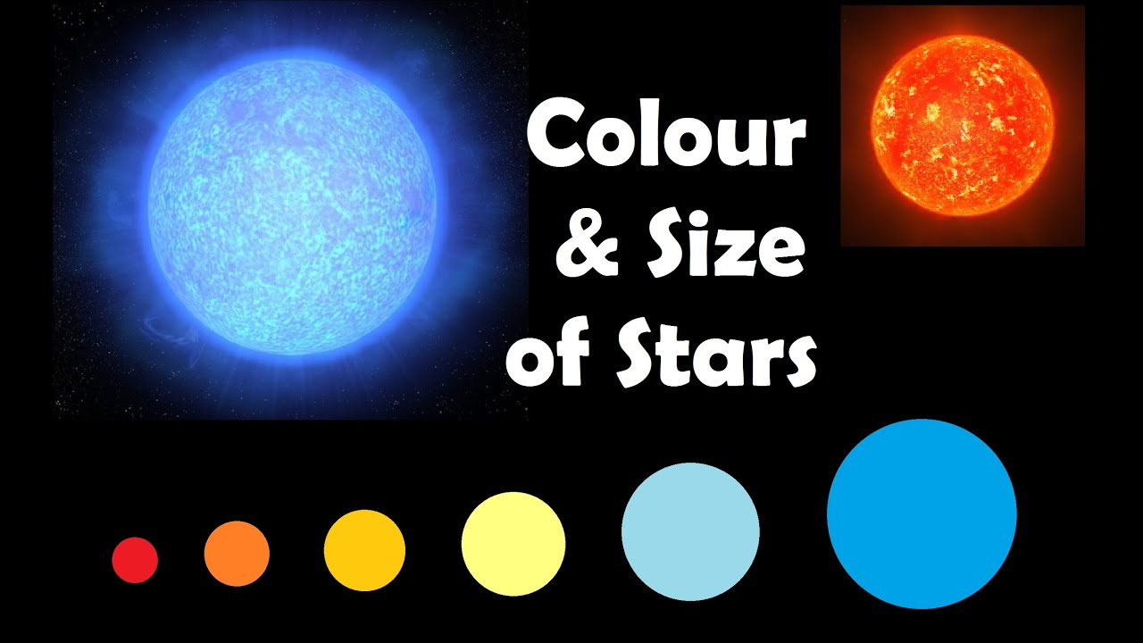 Whats the deal with the colour and size of stars
