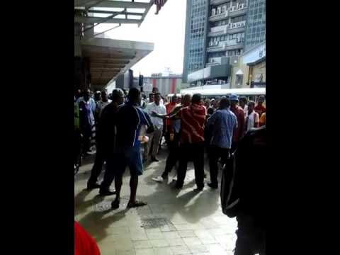 Fight infront of MH CC Suva