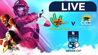 🔴LIVE Barbados vs CCC | Colonial Medical Insurance Super50 Cup