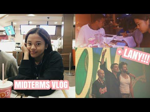 PREPARING FOR MIDTERMS + LANY Concert | Chealseah Mercene thumbnail