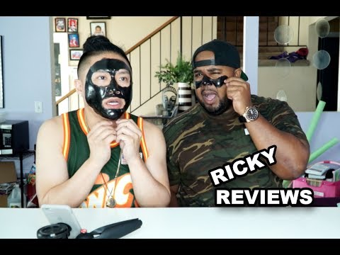 Painful Black Mask | Ricky Reviews